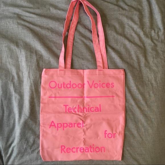 065f4ef0c4 Outdoor Voices LA tote bag brand new